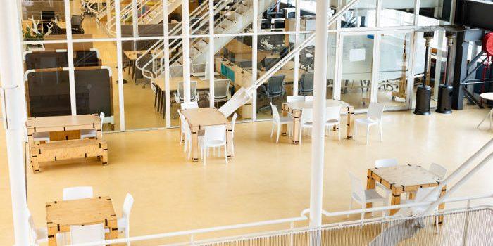 Modern inglasad kontorslokal i Stockholm